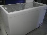 Морозильные лари POLAIR с плоскими стеклянными раздвижными крышками