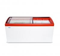 Морозильный ларь с гнутым стеклом МЛГ 600