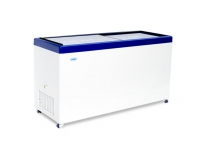 Морозильный ларь со стеклянной прозрачной крышкой МЛП 500.