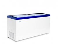 Морозильный ларь со стеклянной прозрачной крышкой МЛП 700.