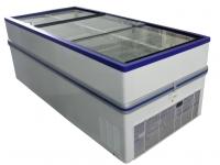 СНЕЖ. Морозильная бонета с раздвижными створками Bonvini BF 2500.