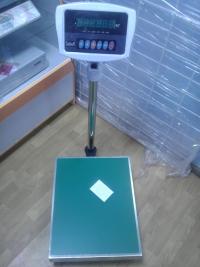 Весы электрон. напольные, SL-300S-150D-2,платформа