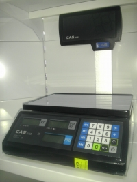 Весы электронн. со стойкой CAS ER JR-15 CBU
