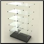 Стеклокубы - витрины из стекла